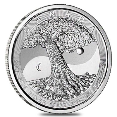 10 Troy ounce silver coin Tree of Life 2017