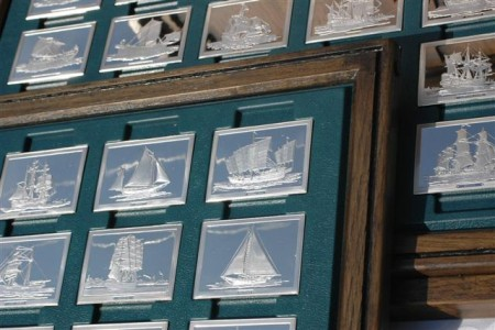 Franklin Mint Sailing Ships of History ingots