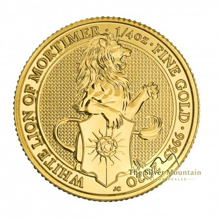 1/4 Troy ounce gold coin Queens Beasts White Lion