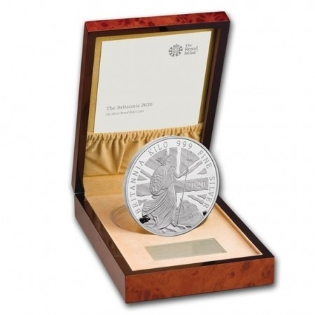1 kilo silver coin Britannia 2020 proof