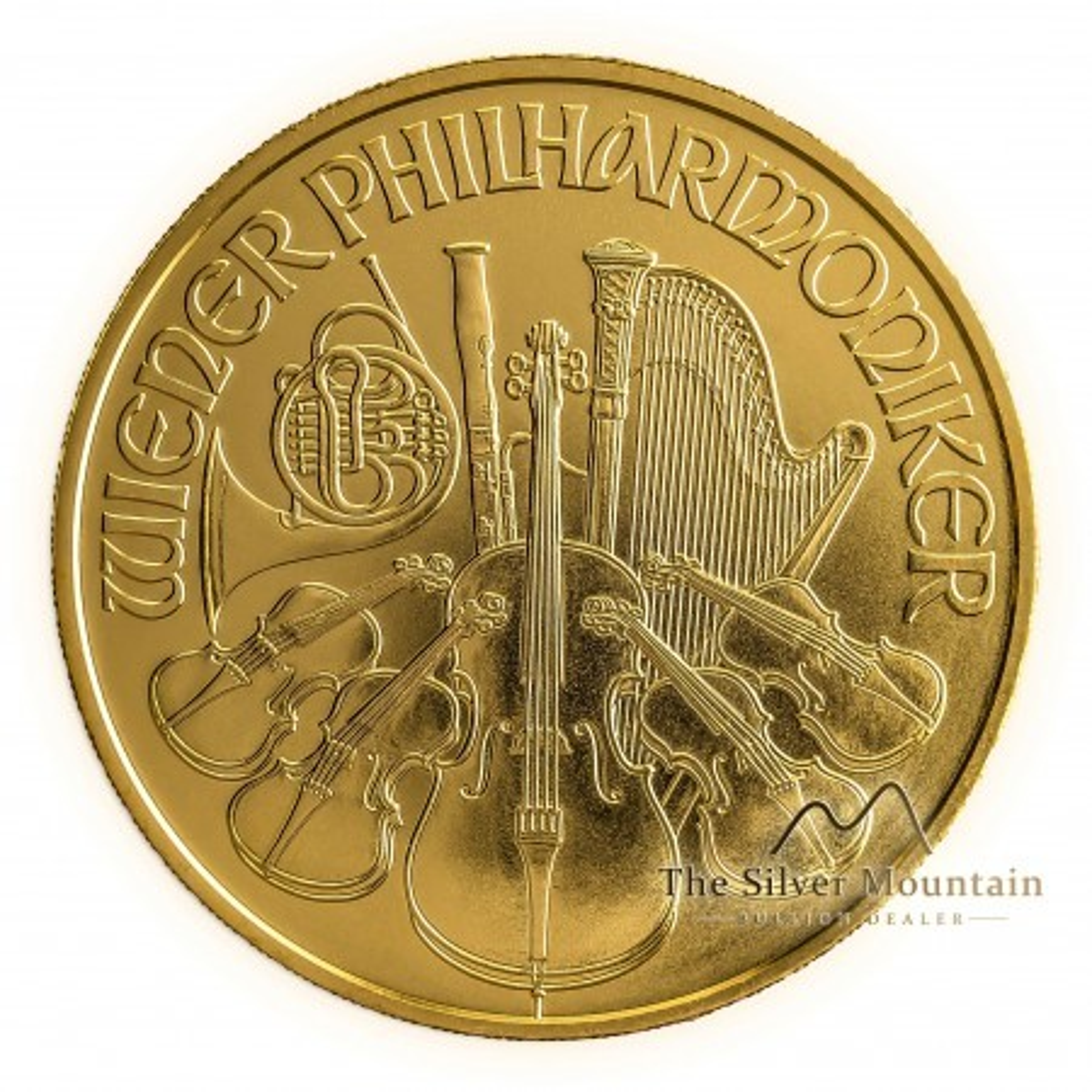 1 troy ounce gouden Philharmoniker 2020
