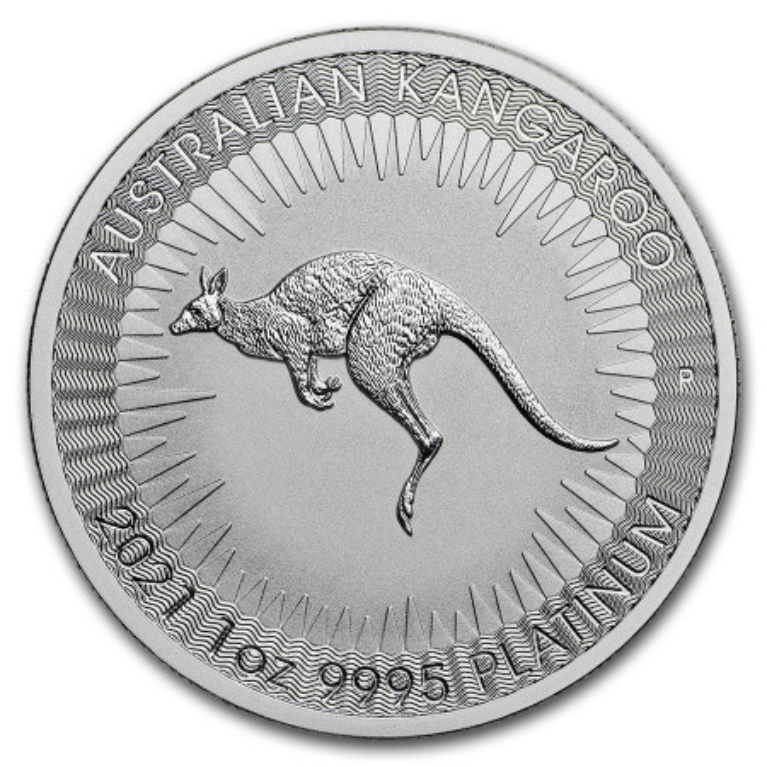 1 troy ounce platinum Kangaroo coin 2021
