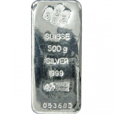 500 Grams Silver Bar Buy Gold And Silver Online The Silver Mountain