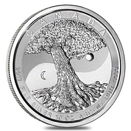 10 Troy ounce silver coin Tree Of Life