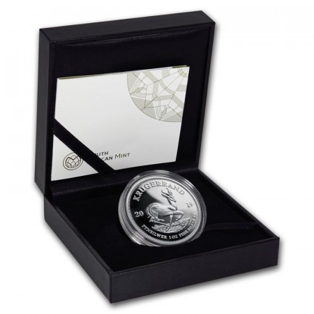 1 Troy ounce zilveren munt Krugerrand 2019 Proof in etui