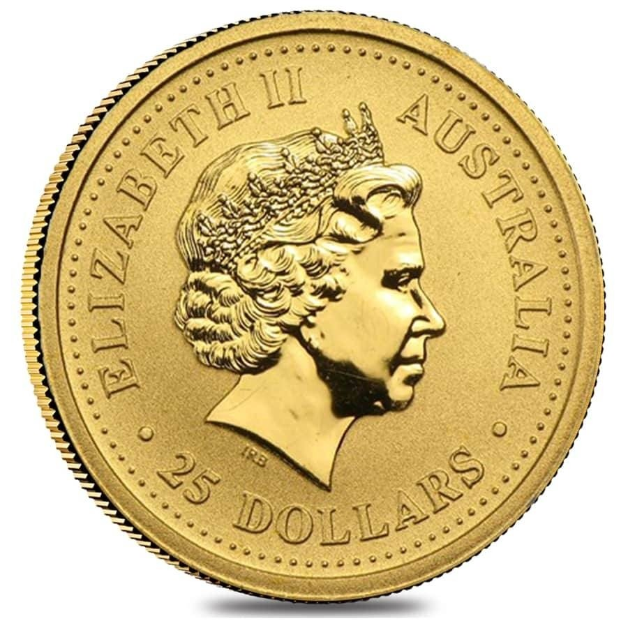 1 troy oz gold coin
