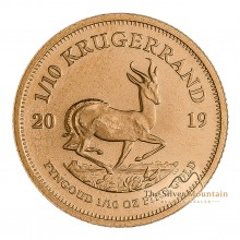 1/10 Troy ounce gold Krugerrand coin 2020