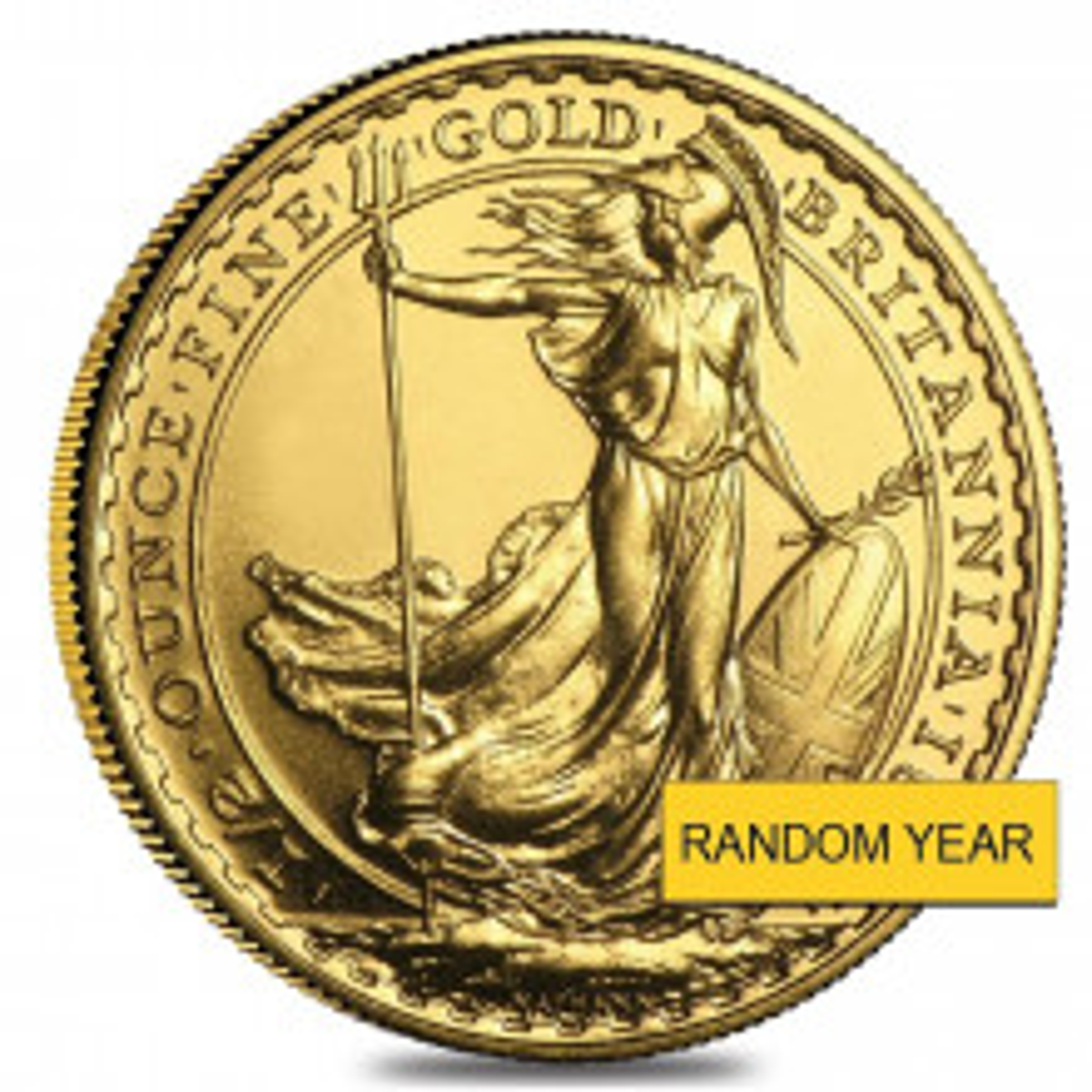 1/2 Troy ounce gold coin Britannia