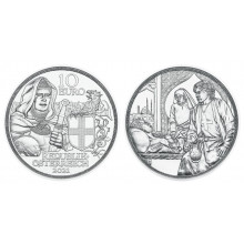 1/2 troy ounce silver coin Brotherhood 2021 Proof