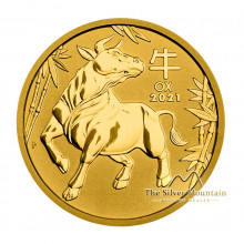 1/2 troy ounce gold coin Lunar 2021