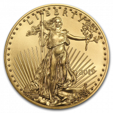 1/4 Troy ounce Golden Eagle 2019