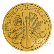 1/4 troy ounce gold Philharmonic coin 2019
