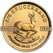 1/4 Troy ounce gold coin Krugerrand proof