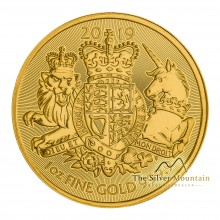 1 Troy ounce gold coin Royal Arms 2019