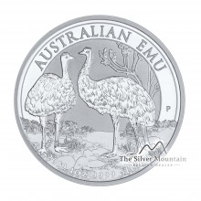1 Troy ounce silver coin Emu 2019