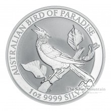 1 Troy ounce silver coin Manucodia 2019