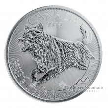 1 Troy ounce silver coin Wolf 2018 - Predator series