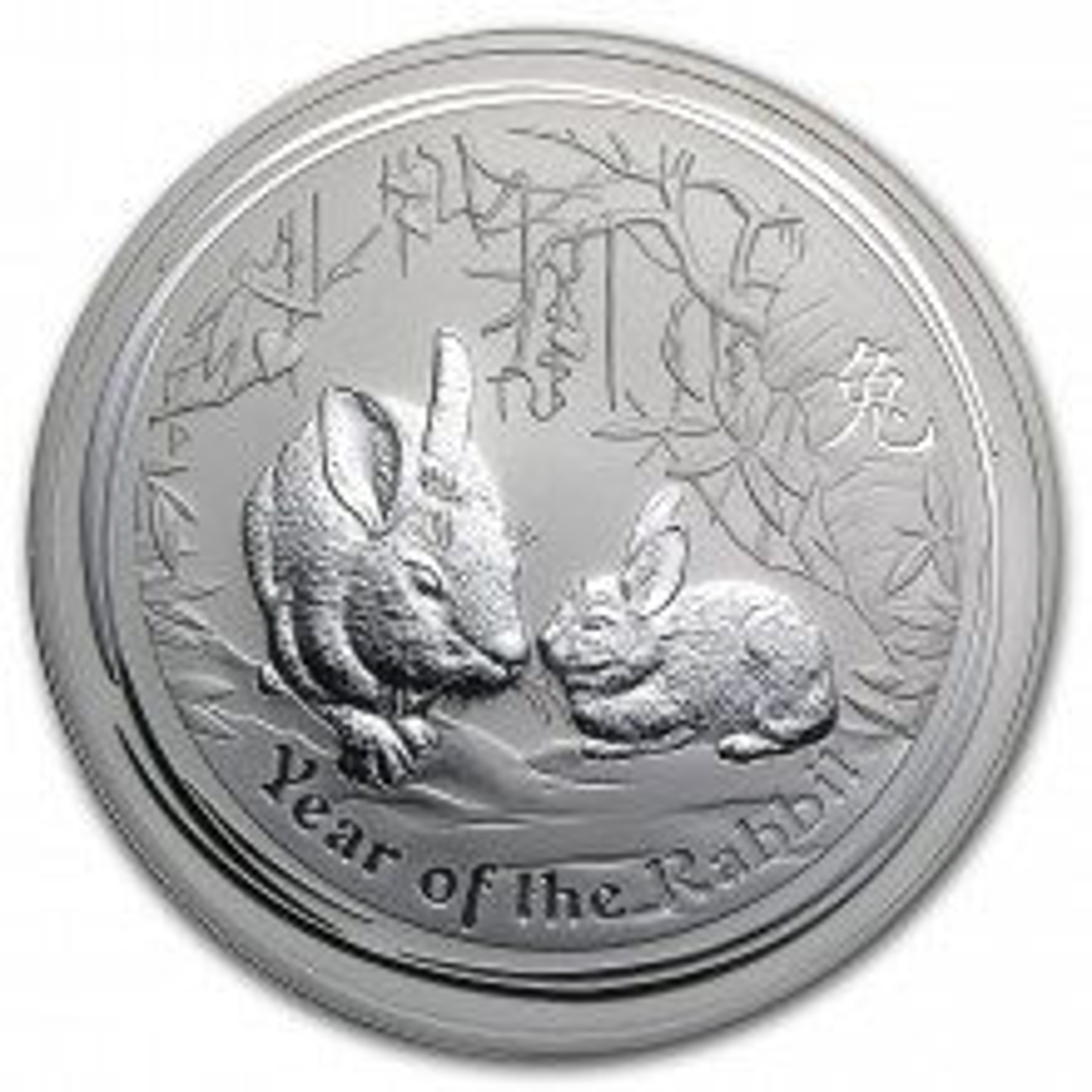 1 Kilo Lunar silver coin 2011