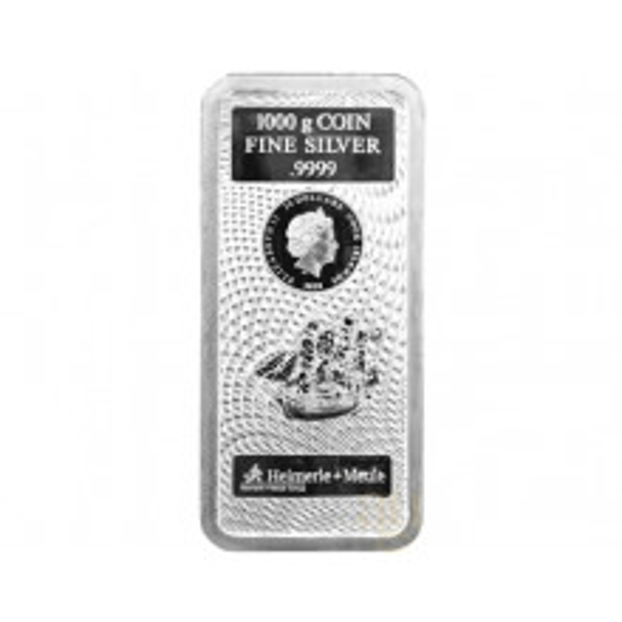 1 Kilogram silver coin bar Cook Islands 2020