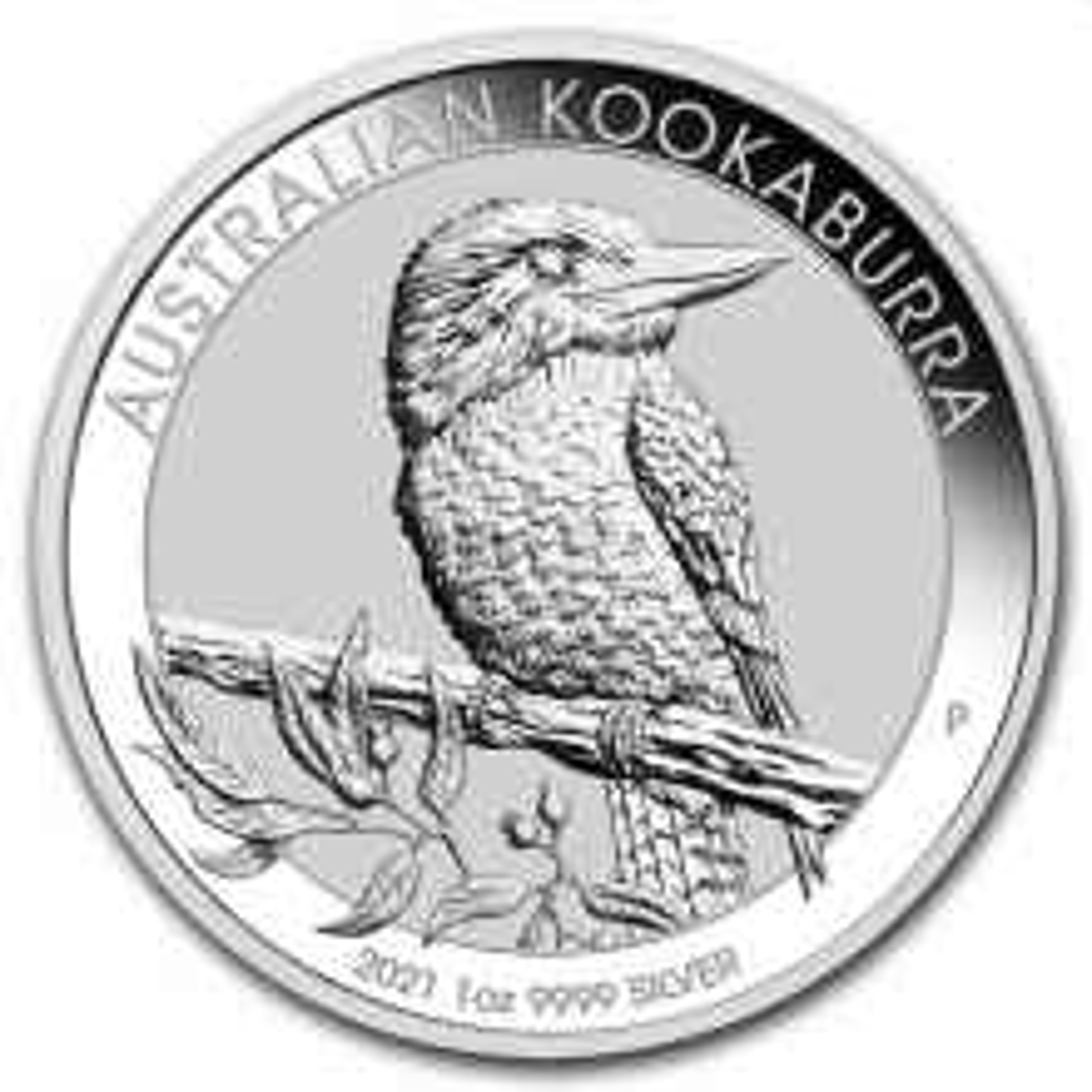 1 troy ounce silver coin Kookaburra 2021