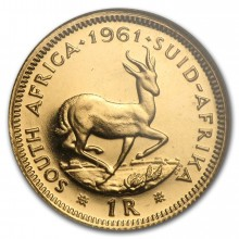1 Rand gold coin South Africa