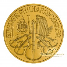 1 Troy ounce gold Philharmonic 2019