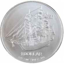 1 Troy ounce silver coin Cook Islands