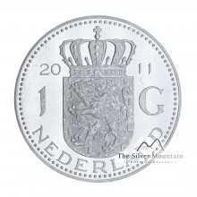 1 troy ounce silver Dutch Guilder