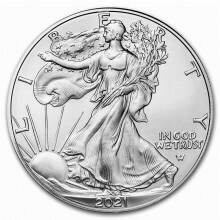 1 troy ounce silver coin Silver Eagle 2021 - type 2