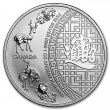 1 troy ounce silver coin five blessings