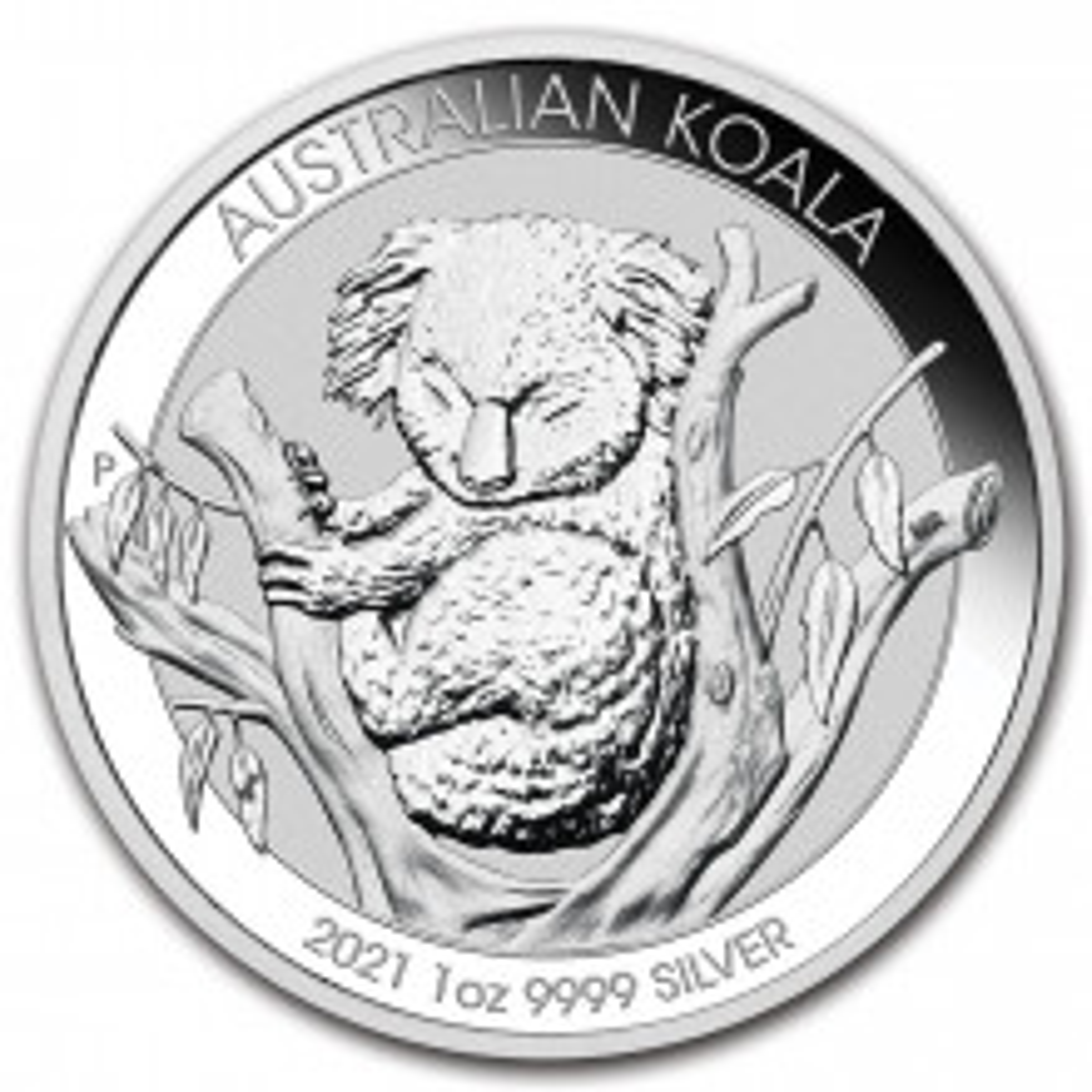 1 Troy ounce silver coin Koala 2021
