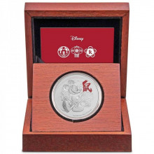 1 Troy ounce silver coin Disney Lunar Year of the Mouse 2020