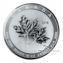 10 Troy ounce silver coin Maple Leaf 2018