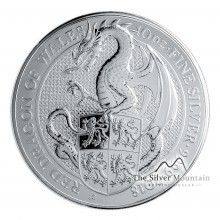 10 Troy ounce silver coin Queens Beasts Dragon