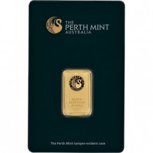 10 grams 99,99 Perth Mint gold bar