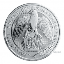 10 Troy ounce silver coin Queens Beasts Falcon of the Plantagenets 2019
