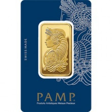 1 Troy ounce gold bar Pamp Suisse Lady Fortuna