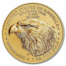 1 troy ounce gold American Eagle 2021 (type 2)