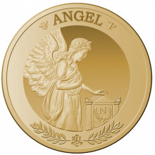 1 troy ounce gold coin St Helena angel 2021 Proof