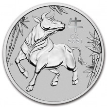 1 Troy ounce platinum coin Lunar 2021