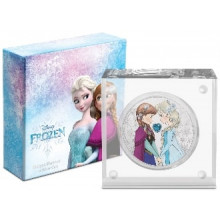 1 troy ounce silver coin Disney Frozen - sisters for ever 2020 Proof