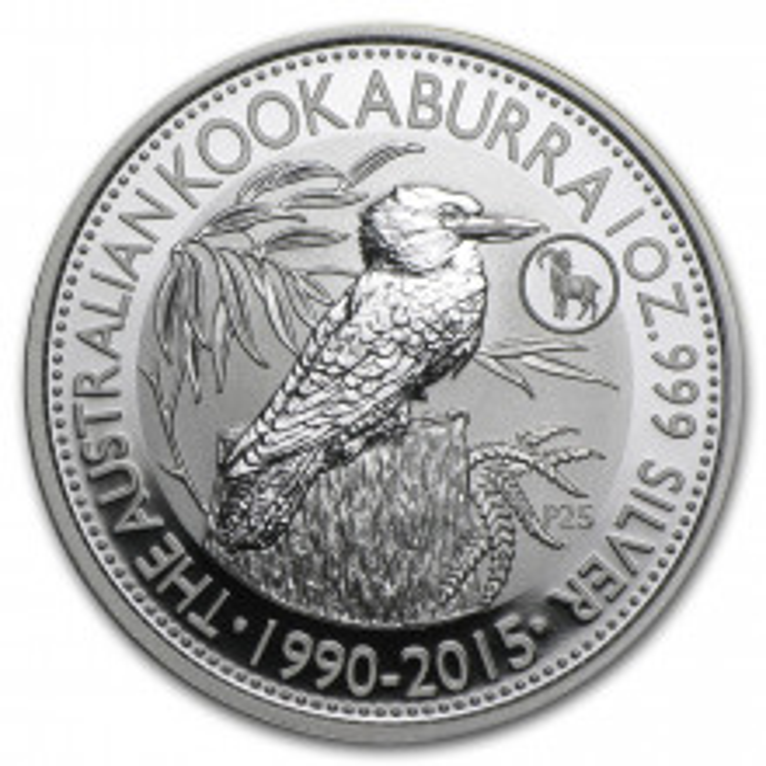 1 troy ounce silver coin Kookaburra (Goat Privy) 2015
