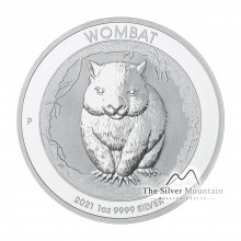 1 troy ounce silver coin Wombat 2021