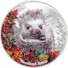 1 troy ounce silver coin Woodland Spirit 2021 Proof