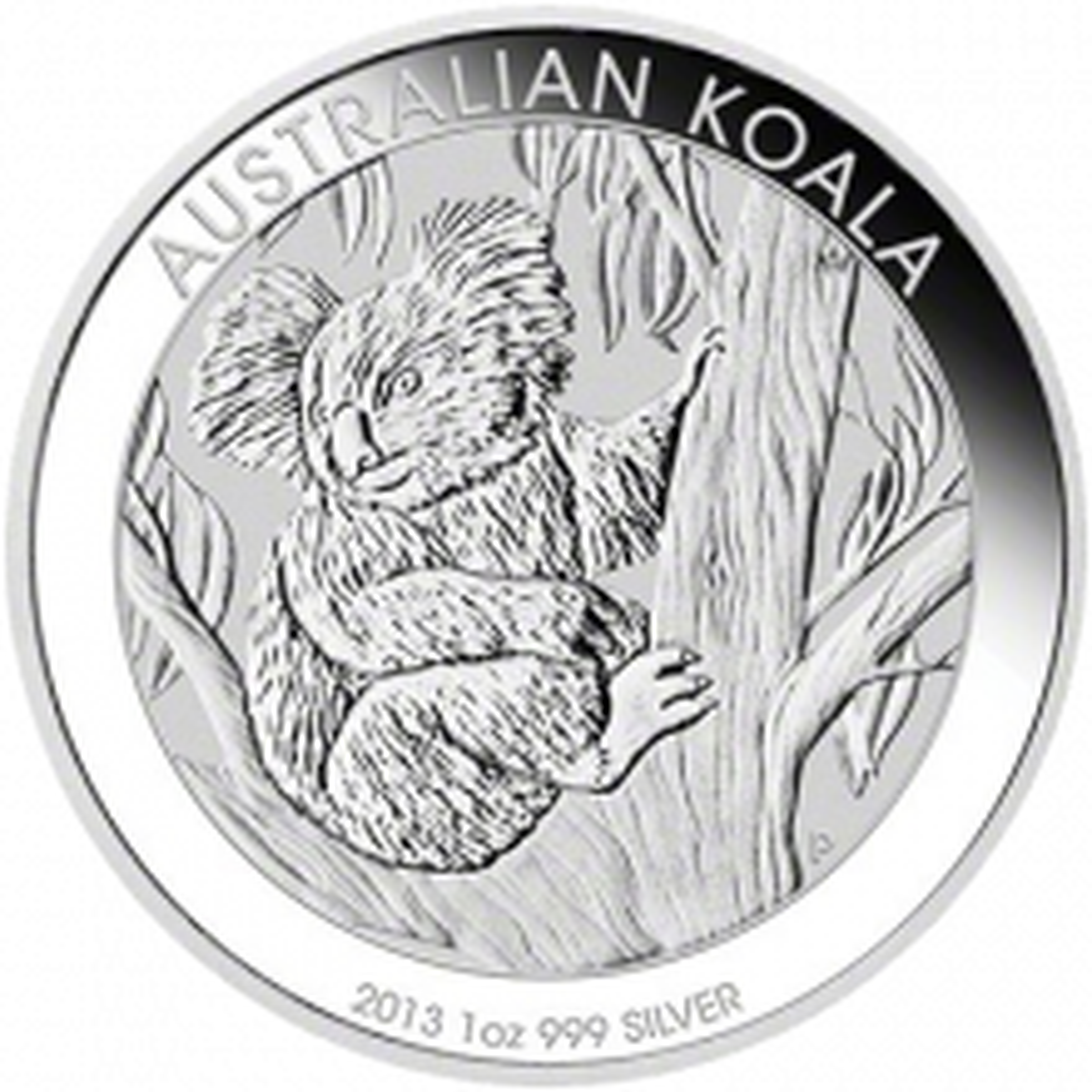 1 Kilo Koala silver coin 2013