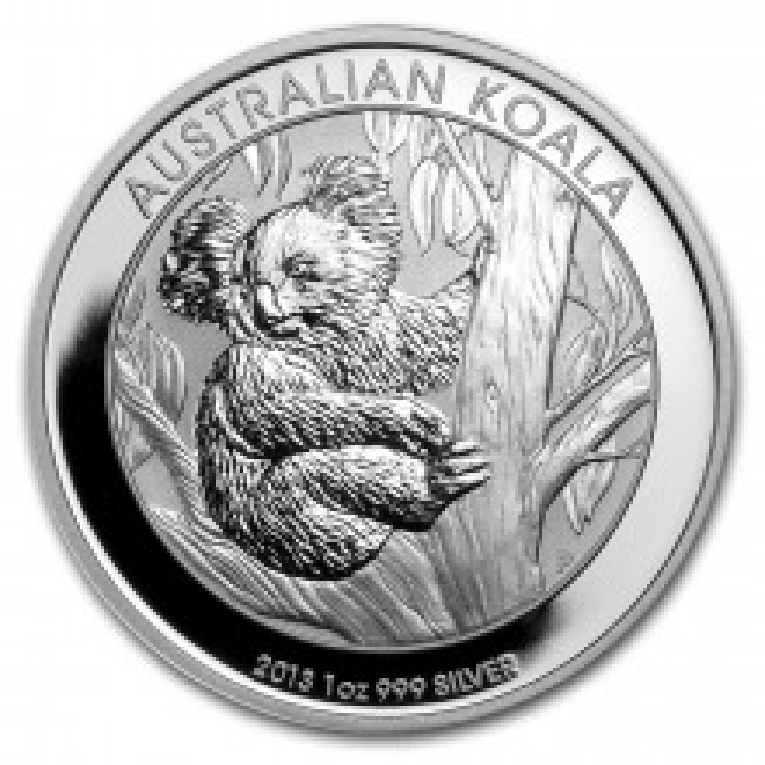 1 Troy ounce silver coin Koala 2013