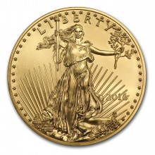 1/4 Troy ounce Golden Eagle coin