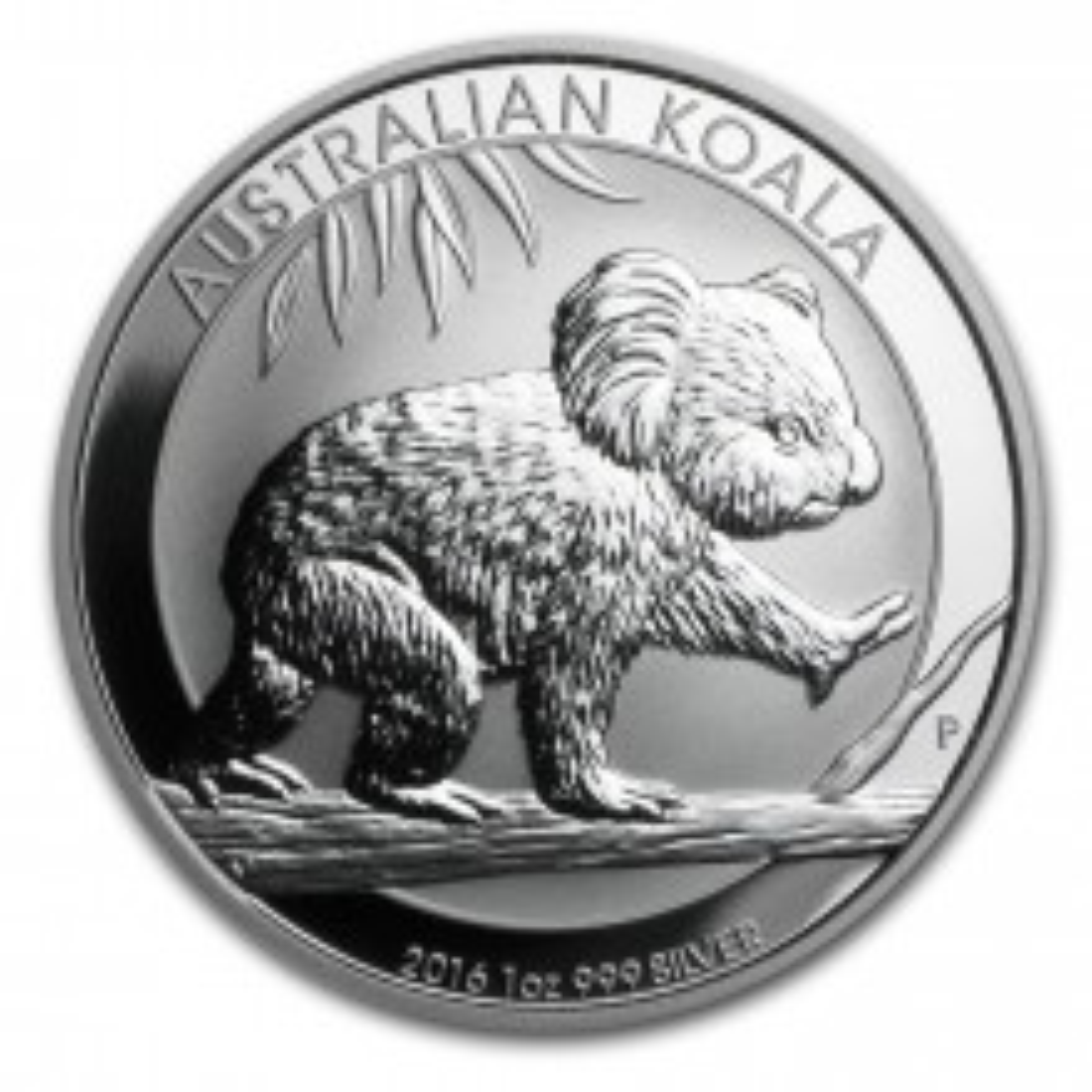 1 troy ounce silver Koala coins 2016