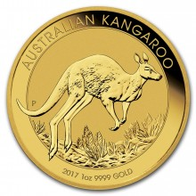 1 troy ounce gold Kangaroo 2017