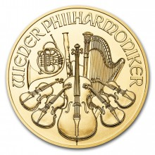 1/2 troy ounce gold Vienna Philharmonic 2019